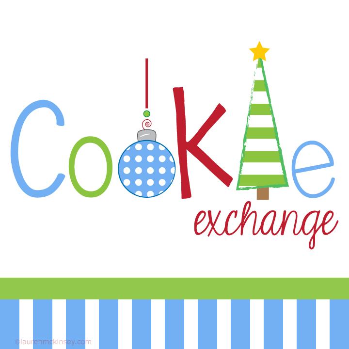 christmas cookie exchange clip art